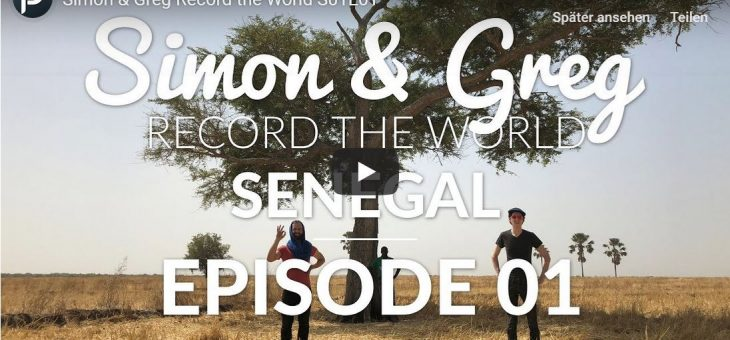 Simon & Greg Record the World